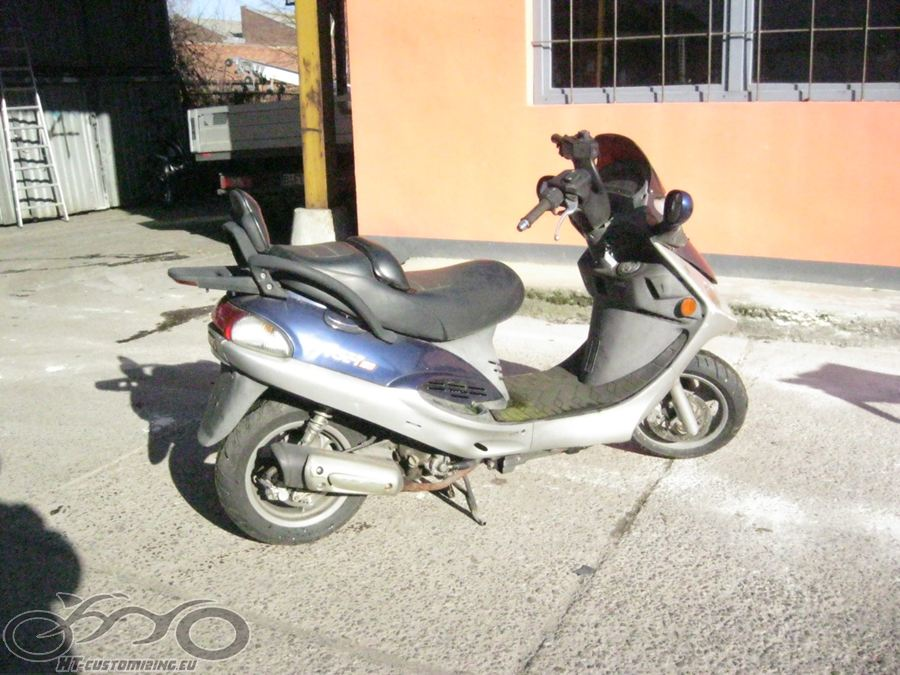 kymco yager gt 125 roller 23193km scooter nr 4 ebay. Black Bedroom Furniture Sets. Home Design Ideas